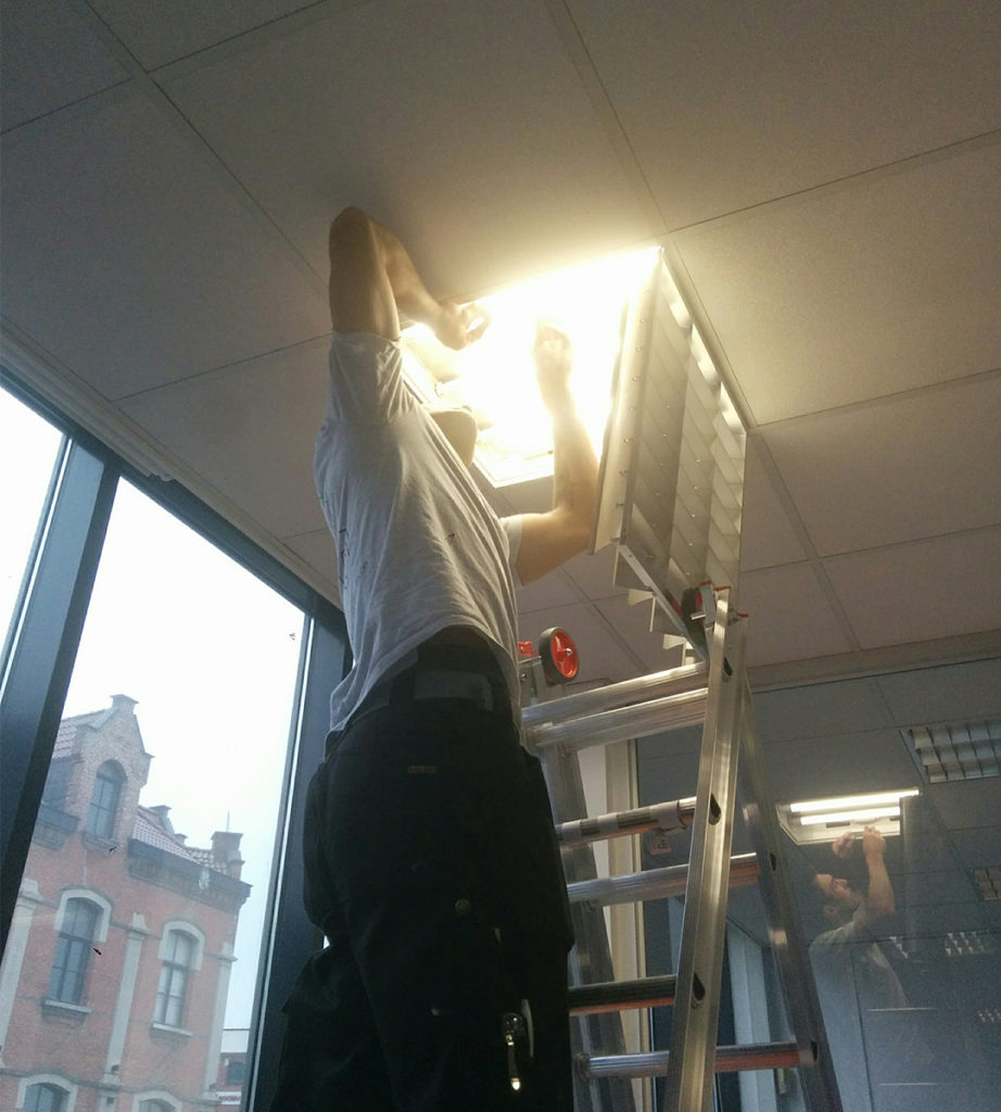 Edifix-TL lamp naar LED lamp